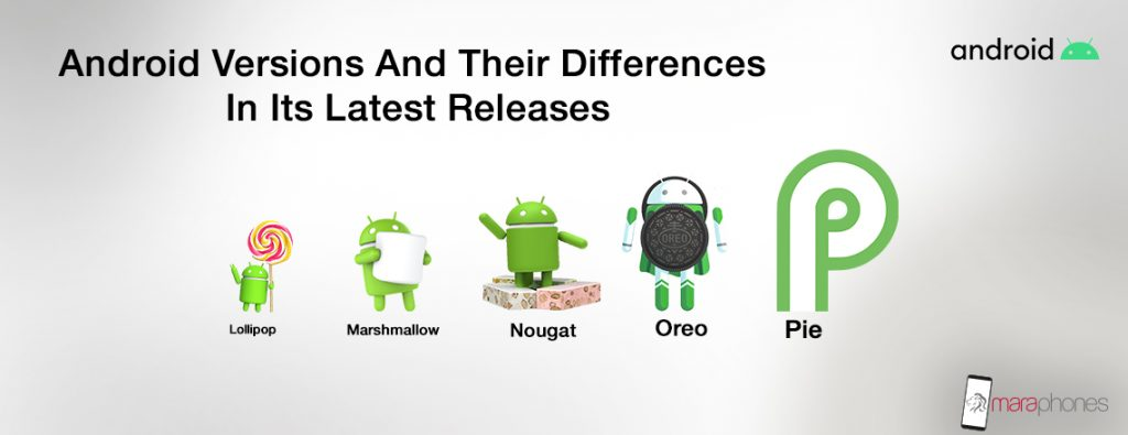 Android Versions and their differences