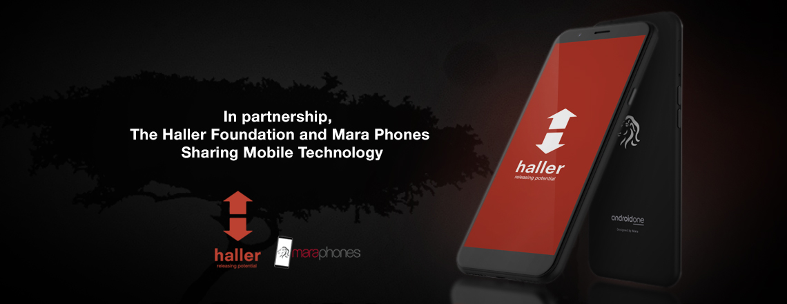 The Haller Foundation and Mara Phones Sharing Mobile Technology